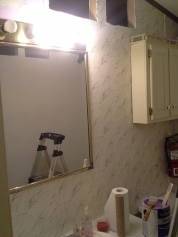Painting & Patching Lilly Bathroom