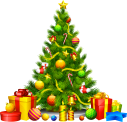 large_transparent_christmas_tree_with_presents_clipart